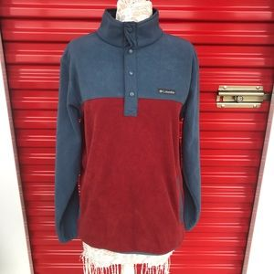 Columbia Foster Creek Half Snap Pullover Sweater M